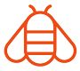 world bee mark icon