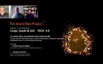 The World Bee Project speaking at Crops, Seeds & Soil Tech (CSS) 4